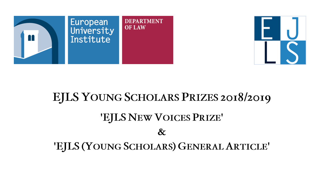 EJLS Young Scholars Prizes 2018/2019